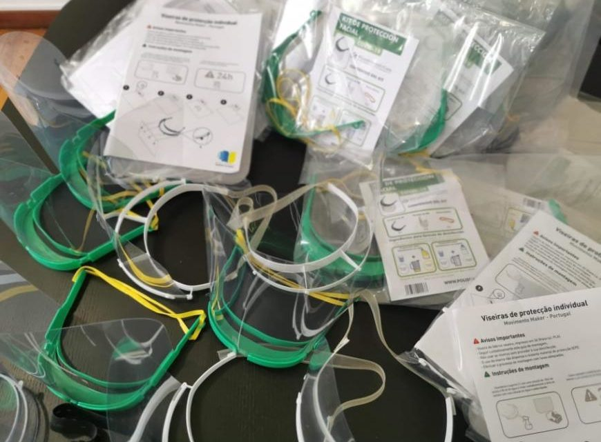 Covid-19 | Castro Marim oferece viseiras e EPI's a profissionais de saúde e outras instituições locais