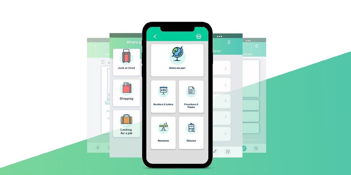 Consórcio internacional desenvolve app multilingue para migrantes e refugiados