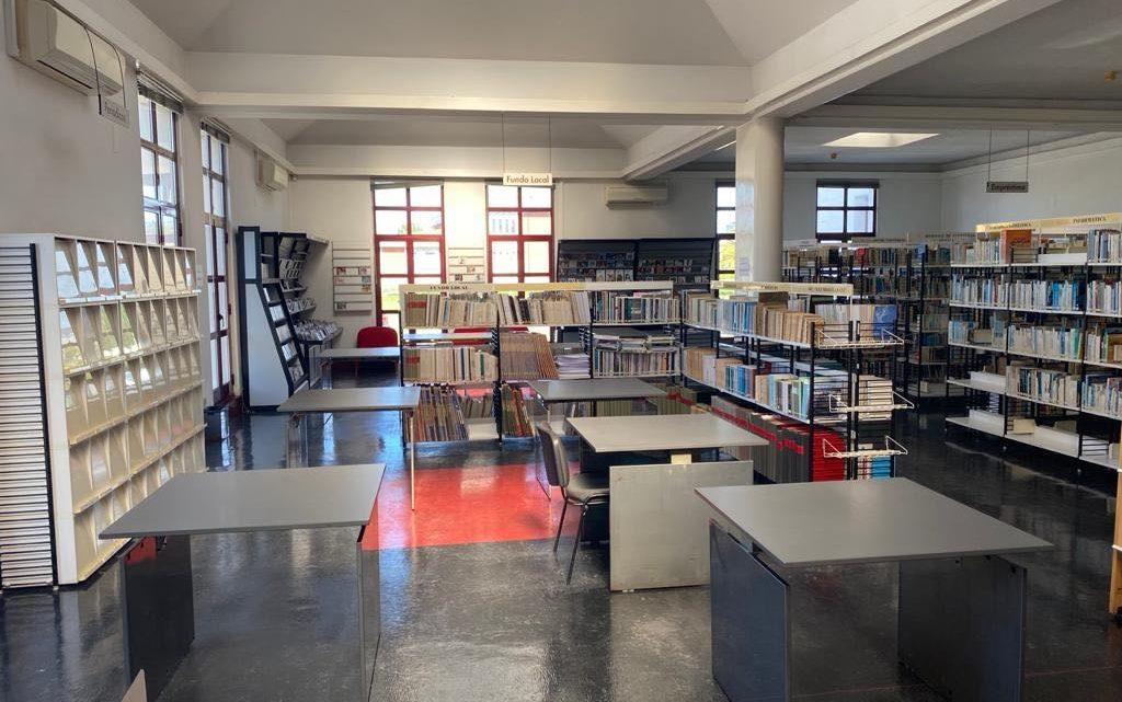 No âmbito das medidas de desconfinamento, Biblioteca Municipal de Cantanhede reabriu ao público