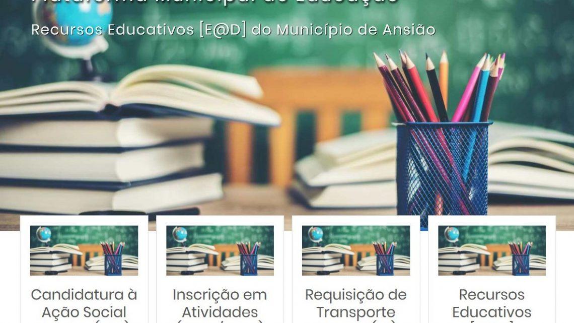 Ansião | Criada Plataforma Municipal de Educação