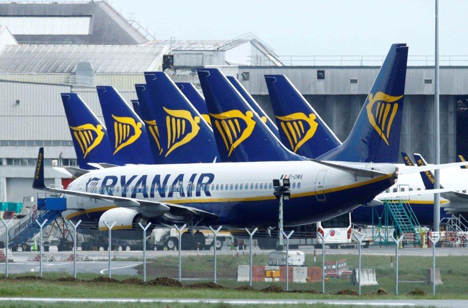 Ryanair retoma em 1 de Julho voos diários do Norte da Europa para Portugal