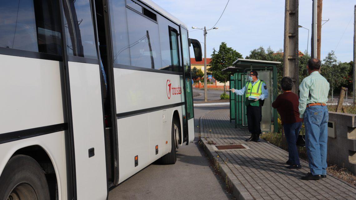 Sertã | GNR realiza ações de sensibilização nos transportes públicos