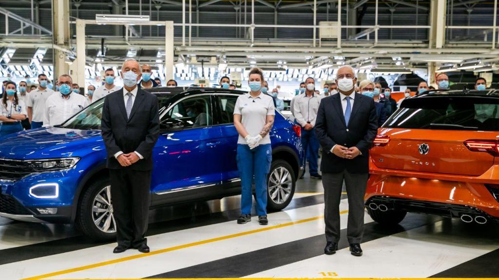 Autoeuropa produziu todos os automóveis fabricados em Portugal em abril