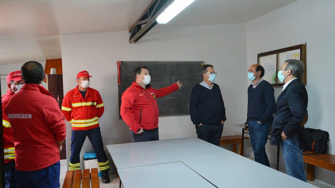 Figueiró dos Vinhos | Equipa de Combate a Incêndios dos Bombeiros Voluntários tem nova base de operações