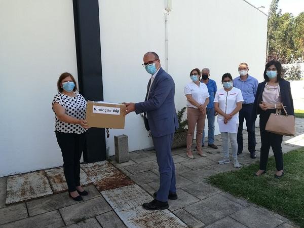 Fundação EDP entrega máscaras ao Centro Social de Avelãs de Cima