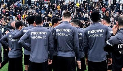 Covid-19: Três jogadores do Vitória de Guimarães infetados
