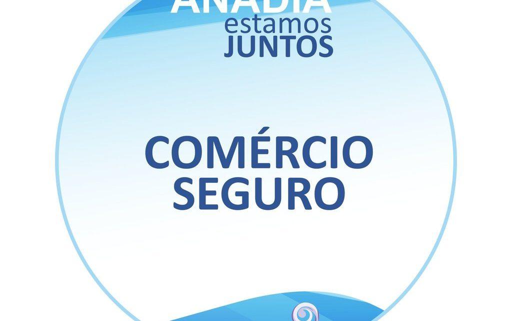 """Anadia promove """"Comércio Seguro"""""""