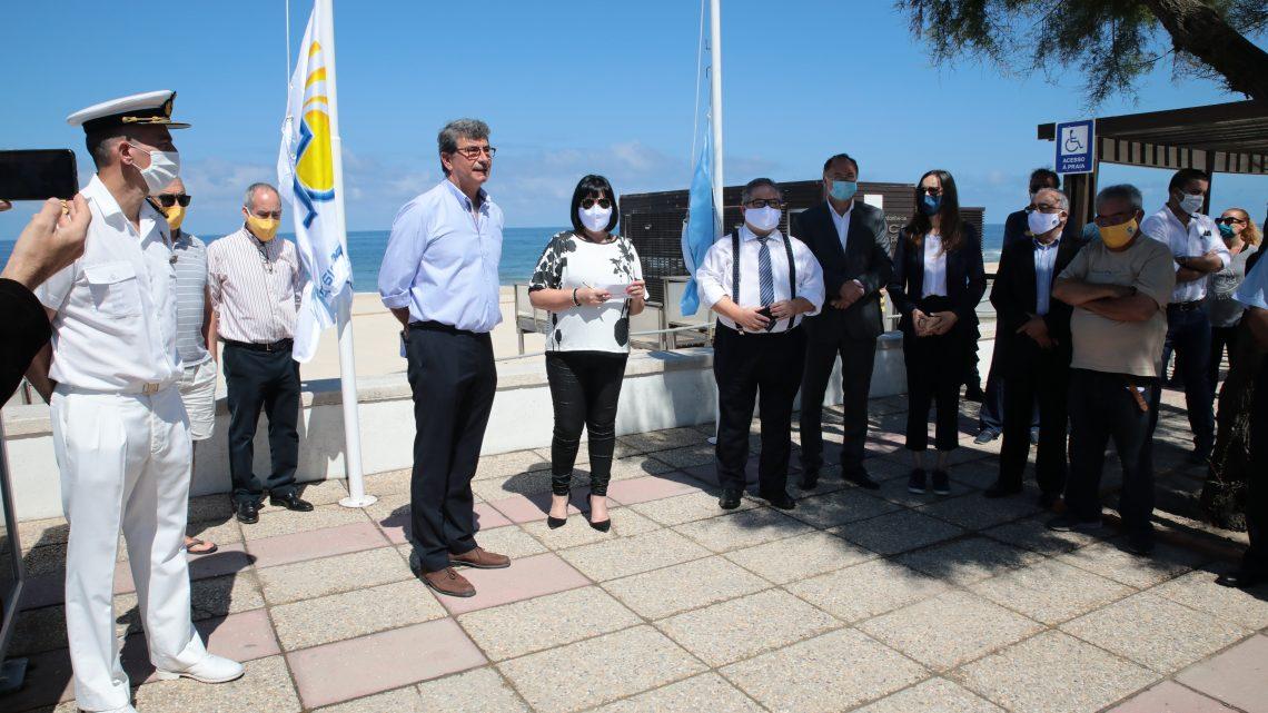 Praia da Tocha distinguida pelo 30.º ano consecutivo com a Bandeira Azul