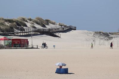 Praias costeiras da região Centro abrem hoje e Figueira da Foz 'reina' nas lotações