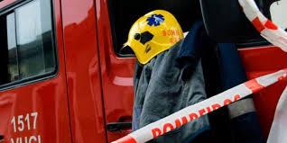 Incêndio e explosão num parque industrial provoca dois feridos graves em Setúbal