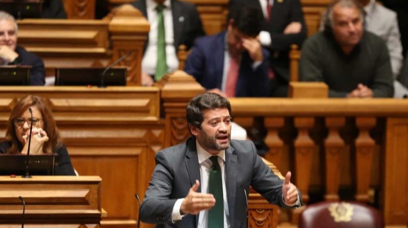 """Ventura diz que """"esquerda tem medo do Chega porque este chega ao seu eleitorado"""""""
