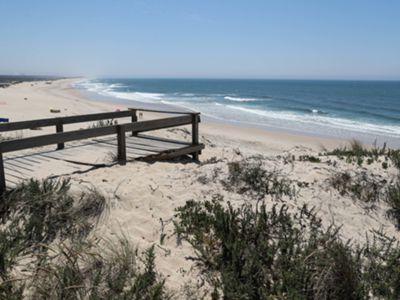Obra na Costa Nova, em Ílhavo, vai disciplinar acesso às dunas e estacionamento