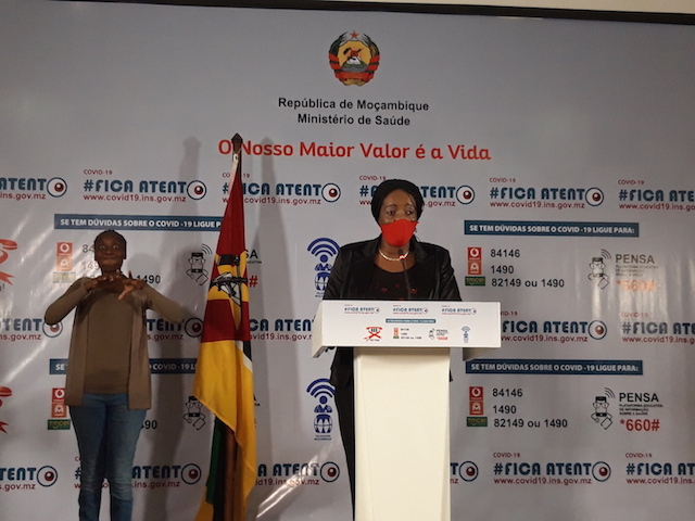 """21 novos casos positivos em Moçambique, repatriados """"não tem que vir com teste para poder entrar no seu país"""""""