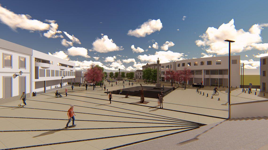 No âmbito da regeneração urbana da vila
