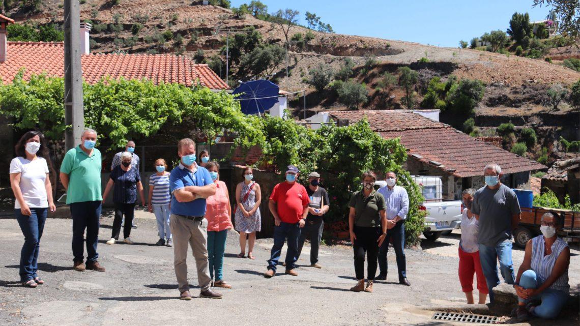 Proença-a-Nova | Proprietários de terrenos em redor da aldeia da Mó assinam contrato com o Município
