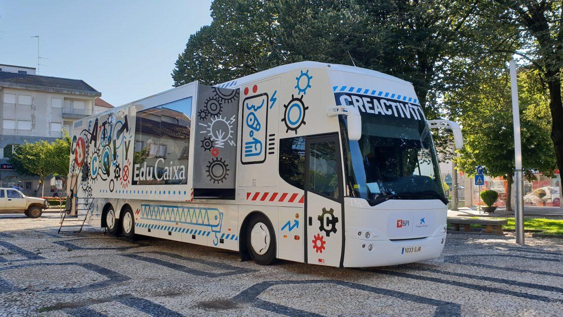 Projeto itinerante fomenta a criatividade no centro de Águeda