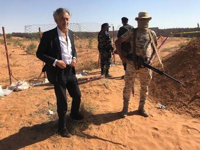 Bernard-Henri Lévy atacado por anti-semitas na Líbia
