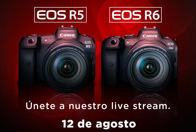 México | Canon Te Invita A La Presentación Oficial De La Nueva Generación De Cámaras, La EOS R5 Y EOS R6