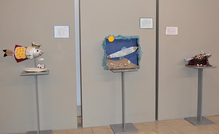 """Até 31 de agosto: Exposição """"A Bela da Sardinha"""" na Biblioteca Municipal de Cantanhede"""