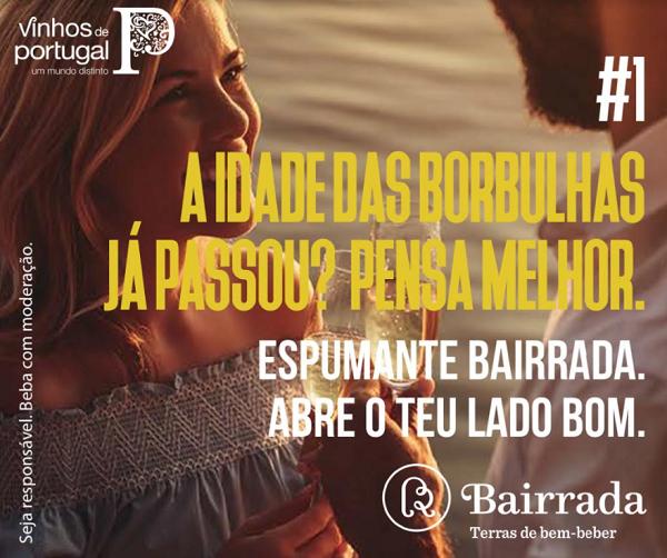 Bairrada lança campanha para promover espumante e novos momentos de consumo