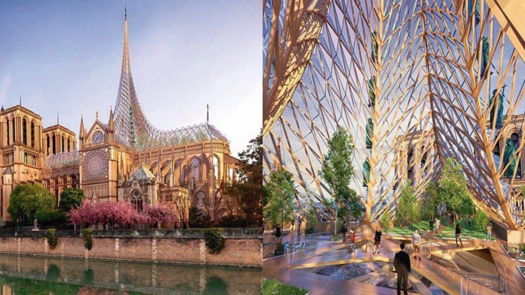 A flecha de Notre-Dame e o Reino de Maria