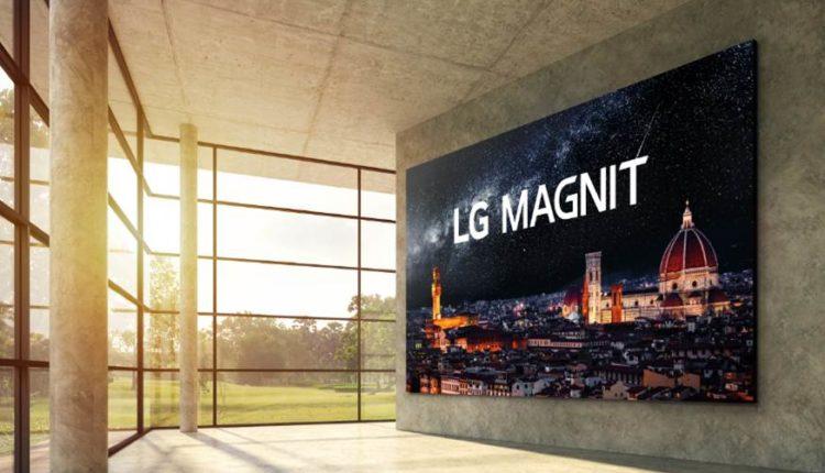 México   La Primera Pantalla Micro LED De LG Establece Un Nuevo Estándar En Tecnología De Pantallas Comerciales