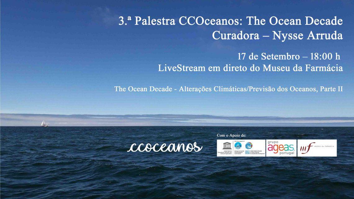 Alterações climáticas e influência nos oceanos em debate no dia 17 no âmbito da Década do Oceano