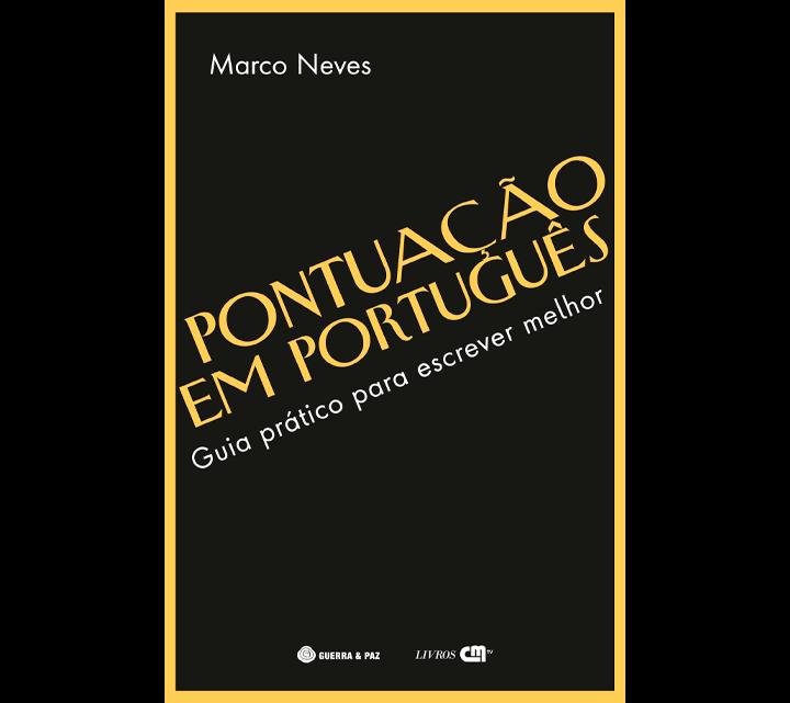 Ponha as vírgulas no lugar certo e vença as armadilhas da pontuação com o novo livro de Marco Neves