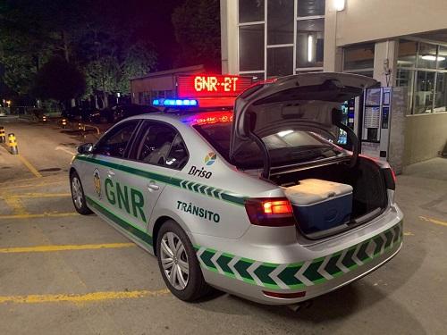 GNR de Aveiro realizou transporte urgente de órgão