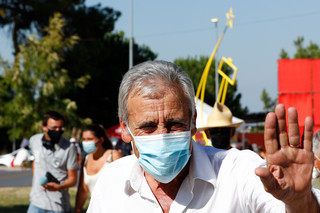 """Jerónimo de Sousa no encerramento do Avante!: """"Queriam calar-nos, não o conseguiram"""""""