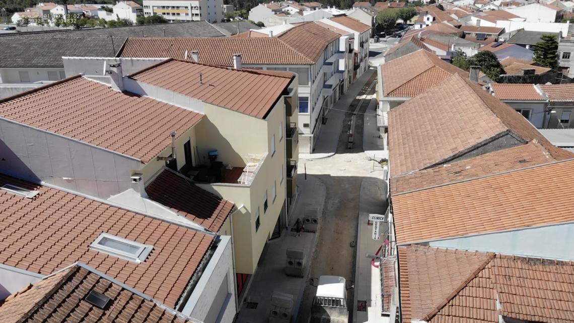 Cantanhede | Requalificação da Ruas das Parreiras e da Rua Conselheiro Carvalho está a ser concluída
