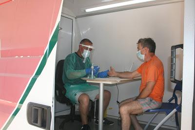 Proença-a-Nova   Unidade Móvel de Saúde atende mais de 200 veraneantes nas praias fluviais e zonas de lazer