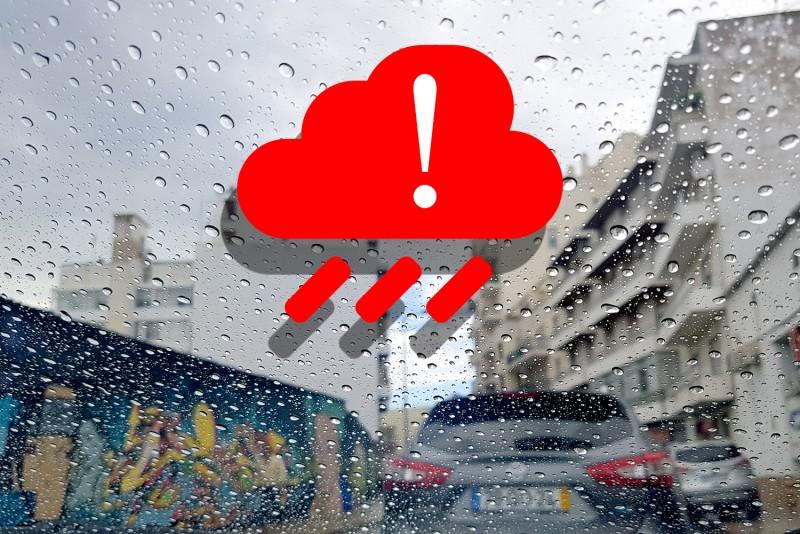 Aviso à população – Condições meteorológicas adversas