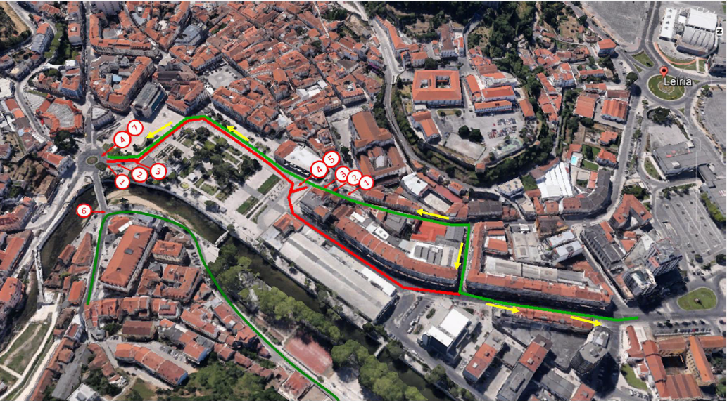 Leiria | Município quer Avenida Heróis de Angola mais atrativa e segura