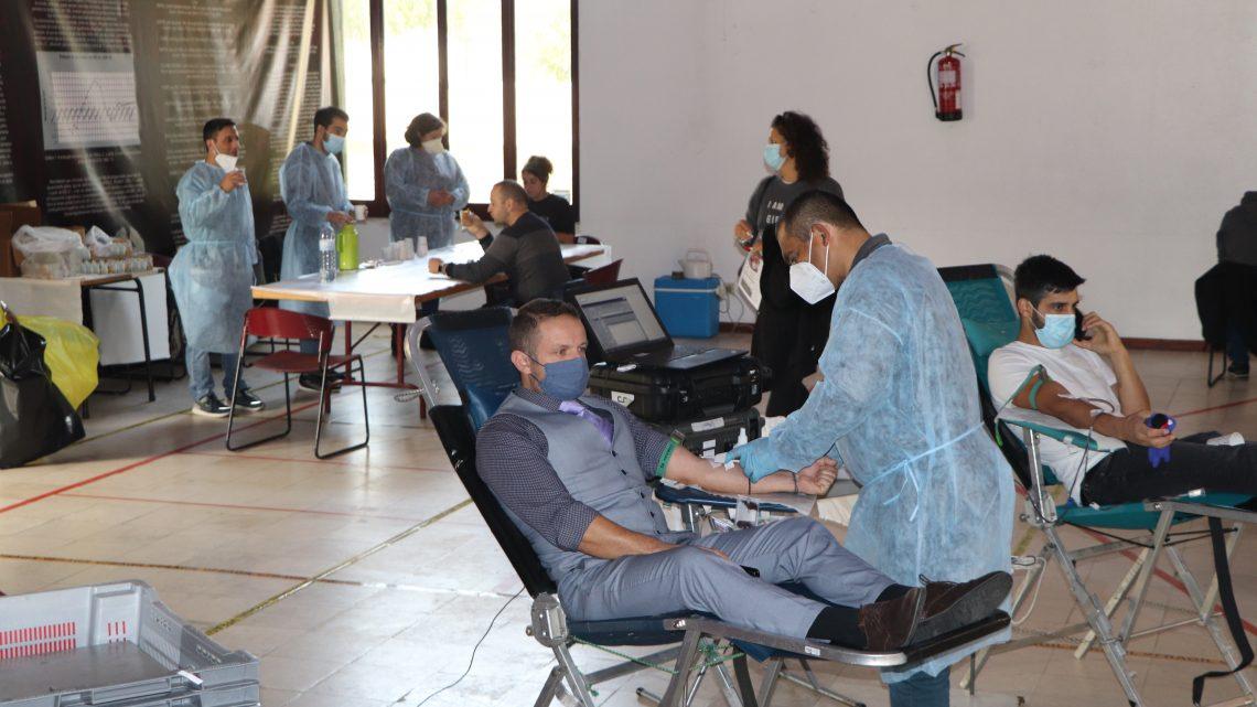 Fotorreportagem da Sessão de Colheitas de Sangue Dia 25 de Outubro em Cacia