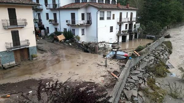 Regiões italianas de Piemonte e Ligúria pedem que Governo declare estado de emergência devido às inundações