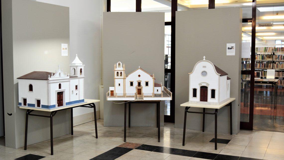 Durante todo o mês de outubro, Maquetes de madeira em exposição na Biblioteca de Cantanhede