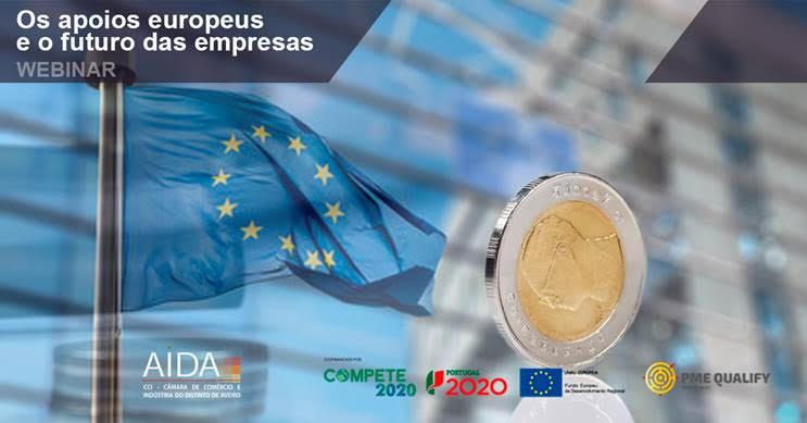 Webinar Os apoios europeus e o futuro das empresas | 11 Nov | 14h30 | Zoom | registo obrigatório