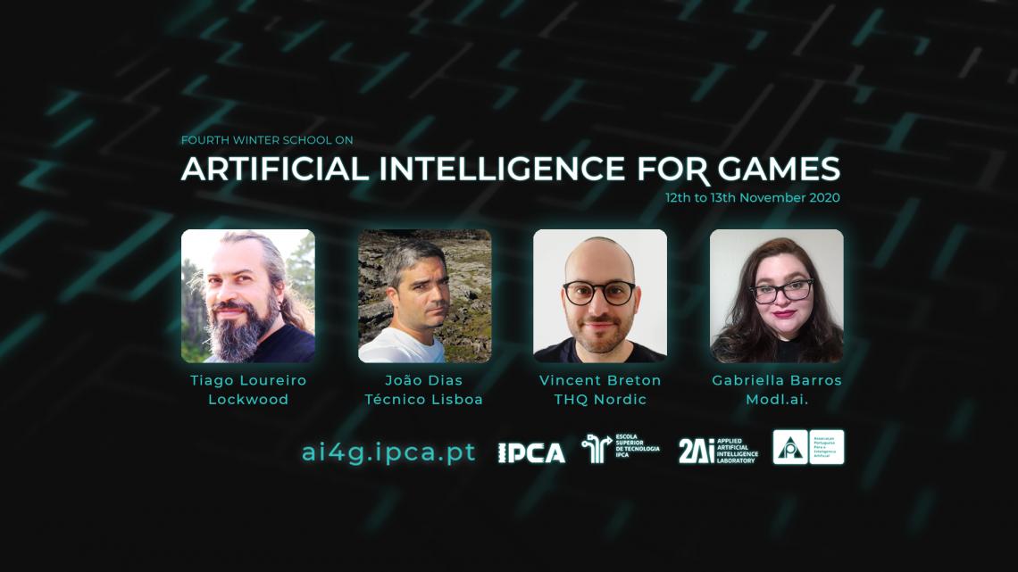 Barcelos   Inteligência Artificial para Jogos discutida no IPCA