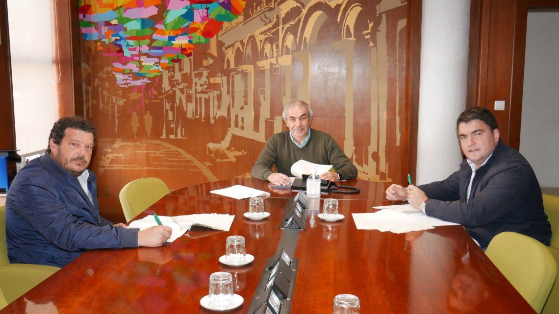 Câmara de Águeda firma protocolo com duas Uniões de Freguesias para execução de obras