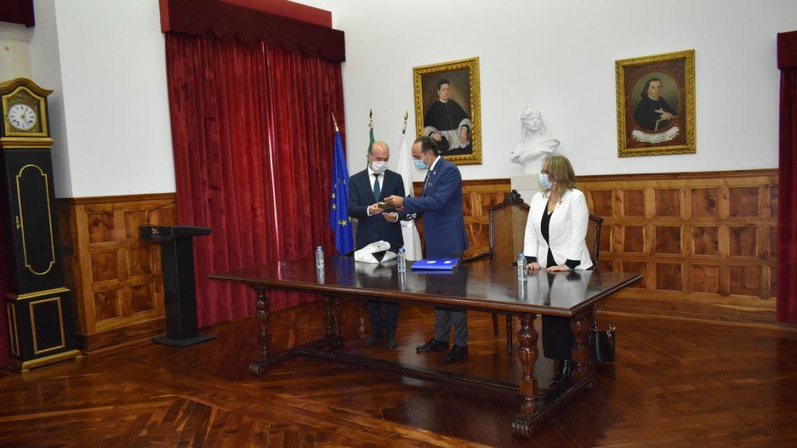 Ansião | Câmara Municipal recebeu Governador do Distrito Rotário