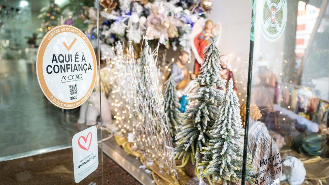 Caldas da Rainha   ACCCRO promove Concurso de Montras de Natal do Comércio Local