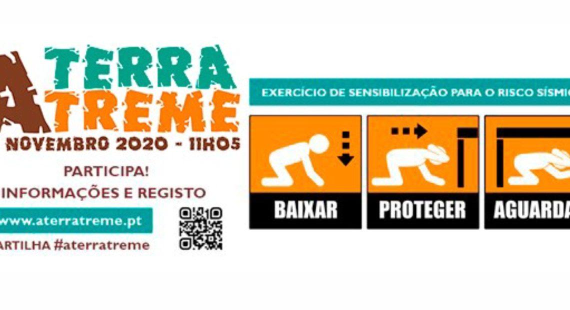 EXERCÍCIO «A TERRA TREME» OS TRÊS GESTOS DE AUTOPROTEÇÃO