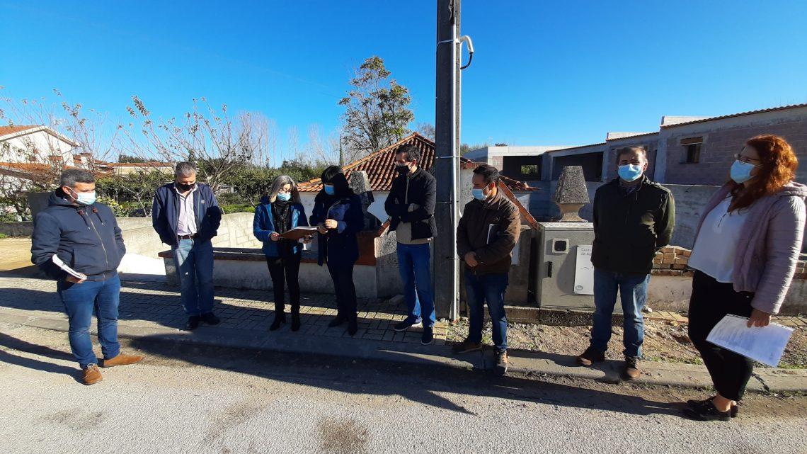 Requalificação da rede viária do concelho de Cantanhede prossegue em Murtede e Sepins