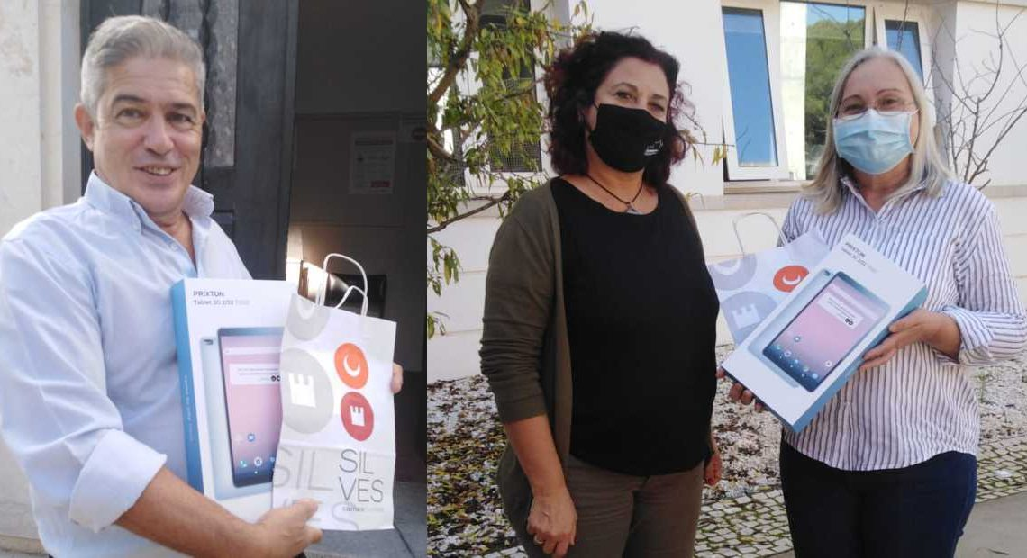 CÂMARA MUNICIPAL DE SILVES ENTREGA MAIS 200 TABLETS A ALUNOS DO ENSINO BÁSICO