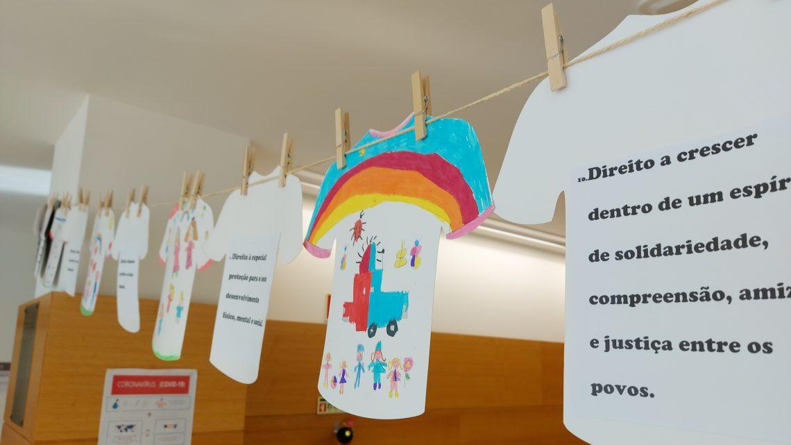 Proença-a-Nova | Crianças apresentam Estendais dos Direitos em vários espaços públicos do concelho