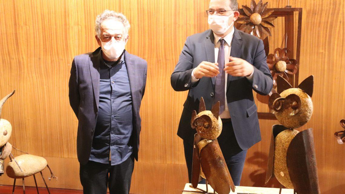 Proença-a-Nova | Luís Pinheiro expõe arte em ferro na Galeria Municipal: Exposição de escultura patente até 7 de janeiro