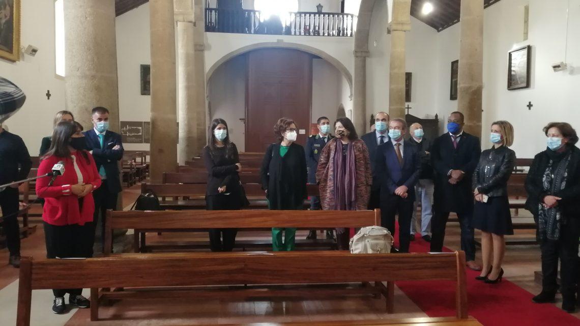 A Igreja Paroquial de Figueiró dos Vinhos foi hoje inaugurada após intervenção de requalificação e restauro