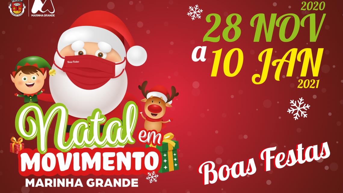 """""""Natal em Movimento"""" na Marinha Grande (Atualizado)"""