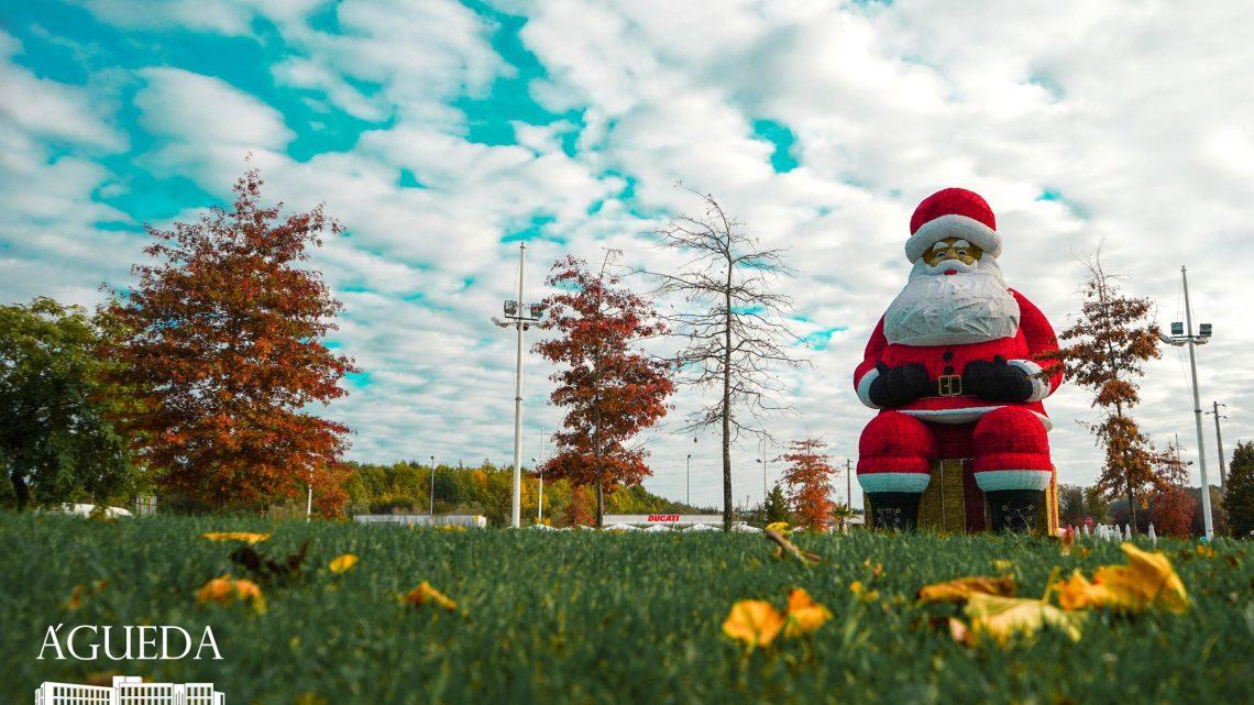 Águeda | Iluminações de Natal vão ser ligadas no próximo sábado